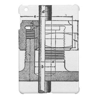 Antiker mechanischer Werkzeug-Ingenieur iPad Mini Hülle