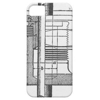 Antiker mechanischer Werkzeug-Ingenieur iPhone 5 Hüllen