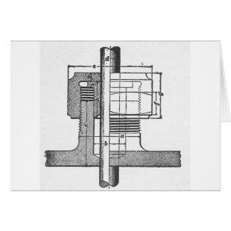Antiker mechanischer Werkzeug-Ingenieur Karte