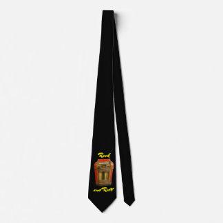 Antiker Musikautomat Retro auf Schwarzem Krawatte