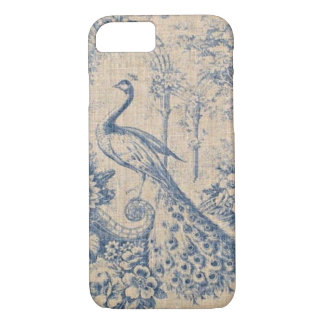 Antiker Pfau Toile iPhone 8/7 Hülle
