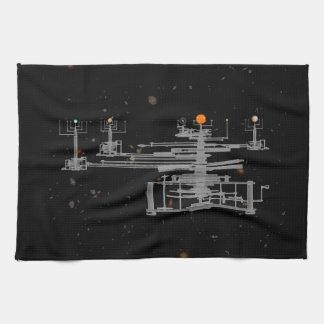 Antiker SonnensystemOrrery im Raum Handtuch