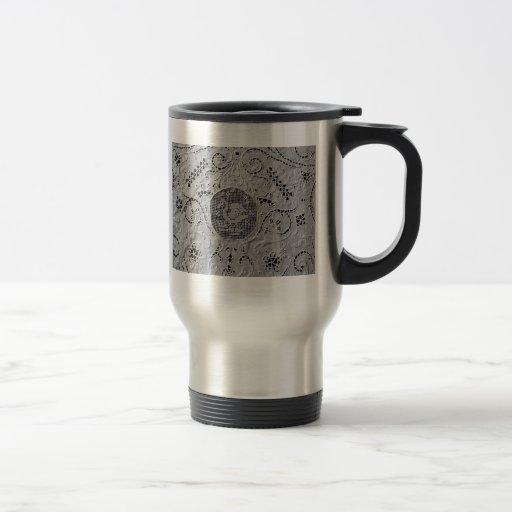 Antiker Spitze-Schwan Kaffeehaferl