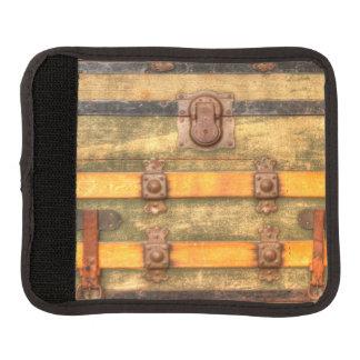 Antiker Stamm Gepäck Markierung