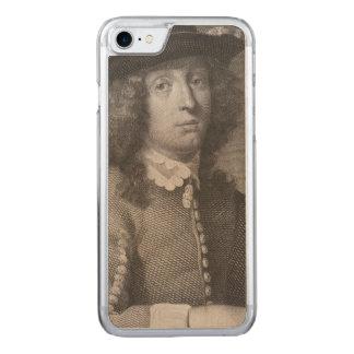 Antiker Stich eines Mannes mit einem schönen Carved iPhone 8/7 Hülle