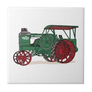 Antiker Traktor Fliese