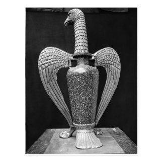 Antiker Vase umgewandelt zu einem liturgischen Postkarte