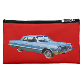 Antikes Auto 1964 Chevrolet Impala Cosmetic Bag
