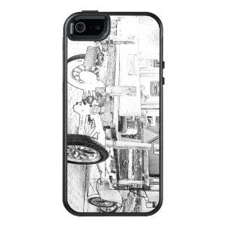 Antikes Auto als Skizze iPhone SE/5/5s Fall OtterBox iPhone 5/5s/SE Hülle