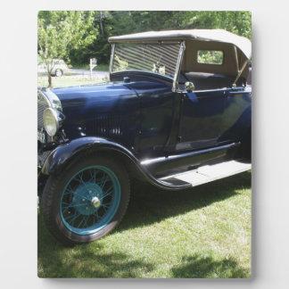 Antikes Auto Fotoplatte
