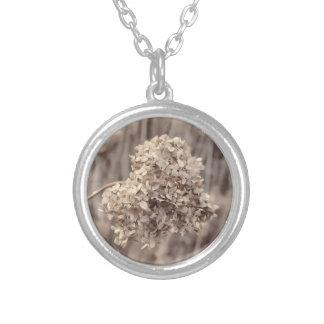 Antikes Blumen-Foto Halsketten