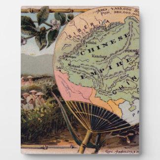 Antikes China-Karten-chinesisches Reich-absolute Fotoplatte
