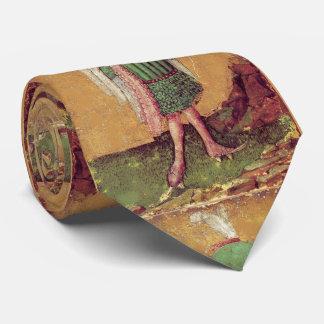Antikes deutsches Gericht Tarots /Squire der Bedruckte Krawatte