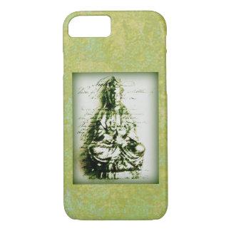Antikes grünes Kwan Yin iPhone 8/7 Hülle