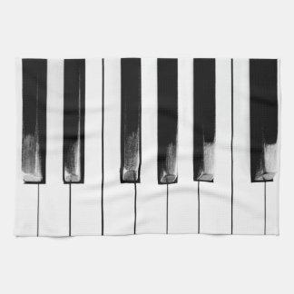 Antikes Klavier befestigt Tastatur Handtuch