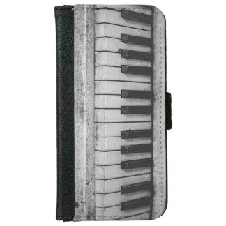 Antikes Klavier befestigt Vintagen Geldbeutel Hülle Für Das iPhone 6/6s