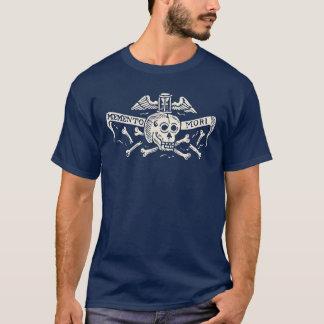 Antikes Memento Mori Schädel-Shirt T-Shirt