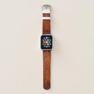 Antikes rustikales hölzernes Korn (Foto) Apple Watch Armband