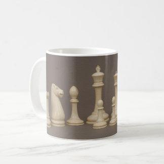 Antikes Schach-Set Kaffeetasse