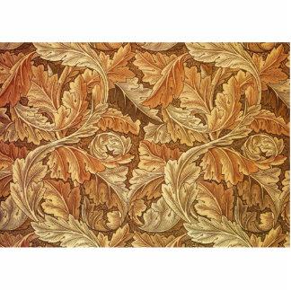 Antikes Tapeten-Blätter - Acanthus Fotoskulptur Magnet