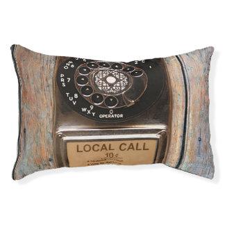 Antikes Telefondrehskala-Münztelefon Haustierbett