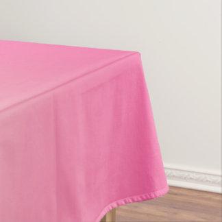 Antikes Weiß und Winter-Himmel-Rosa Ombre Muster Tischdecke