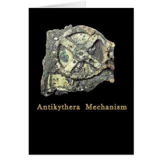 Antikythera Mechanismus Karte