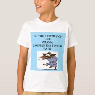 Antiliberaler Antiwitz obama T-Shirt