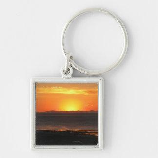Antilopen-Insel-Sonnenuntergang Schlüsselanhänger