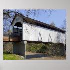 Antilopen-Nebenfluss-überdachte Brücke, im Jahre 1 Poster