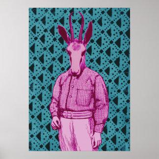 Antilopenmann Poster
