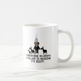 AntiObama, Dorfidiot Kaffeetasse