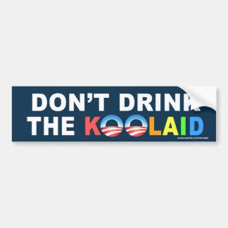 "AntiObama ""trinken nicht das Koolaid"" Autoaufkleber"