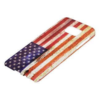 Antiquierte amerikanische Flagge