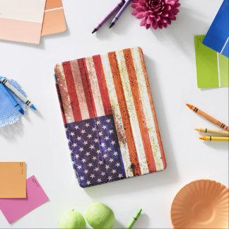 Antiquierte amerikanische Flagge iPad Pro Cover