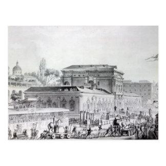 Antiquitäten gefunden in Herculaneum, das ist Postkarte