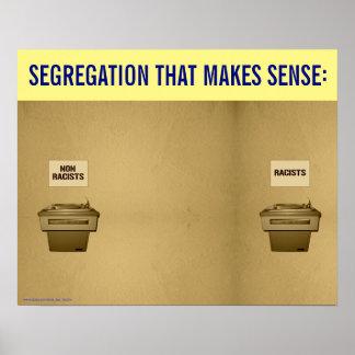 Antirassismus-Plakat Poster