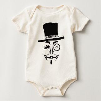 AntiSec AntiSecurity Hacker-Logo Baby Strampler