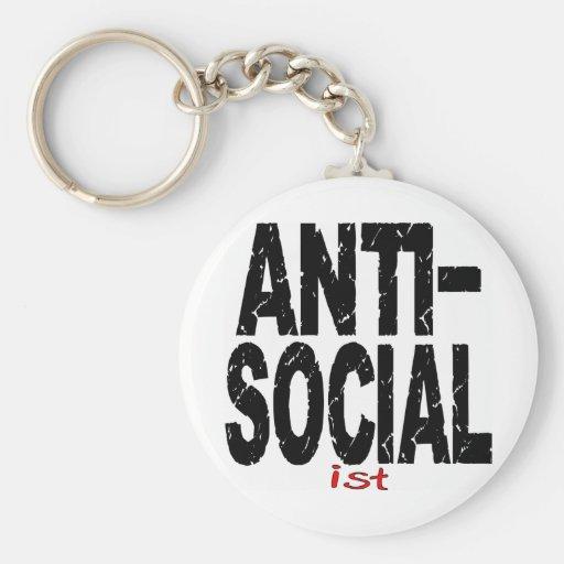 Antisoziale Ist (Anti-Sozialistisch) Schlüsselband