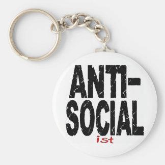 Antisoziale Ist Anti-Sozialistisch Schlüsselband
