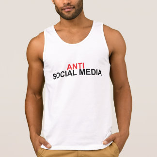 Antisozialmedien Tank Top