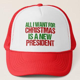 Antitrumpf lustig alle, die ich für Weihnachten Truckerkappe