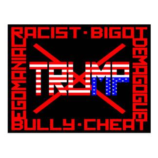 AntiTrumpf Postkarte