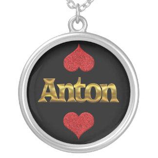 Anton-Halskette Versilberte Kette