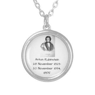 Anton Rubinstein 1855 Versilberte Kette