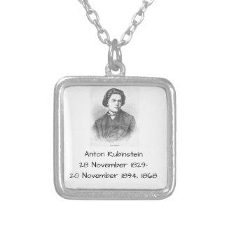 Anton Rubinstein 1868 Versilberte Kette