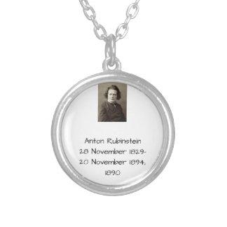 Anton Rubinstein 1890 Versilberte Kette
