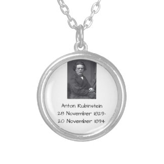 Anton Rubinstein Versilberte Kette