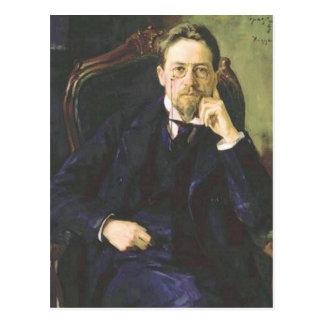 Anton Tschechow 1898 Postkarte