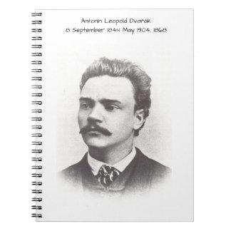 Antonin Leopold Dvorak 1868 Spiral Notizblock